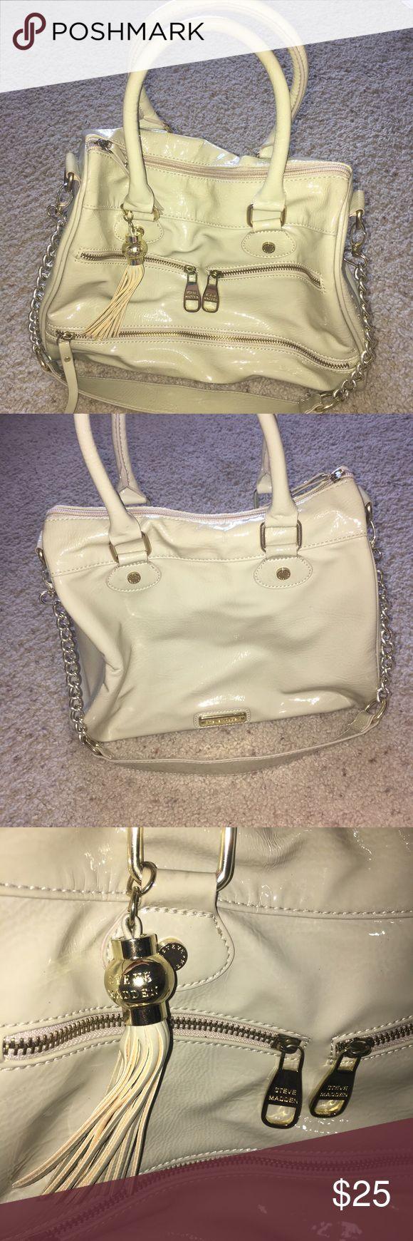 Steve Madden Handbag Steve Madden Handbag. Lightly used. Light stain on the inside floor. Steve Madden Bags Shoulder Bags