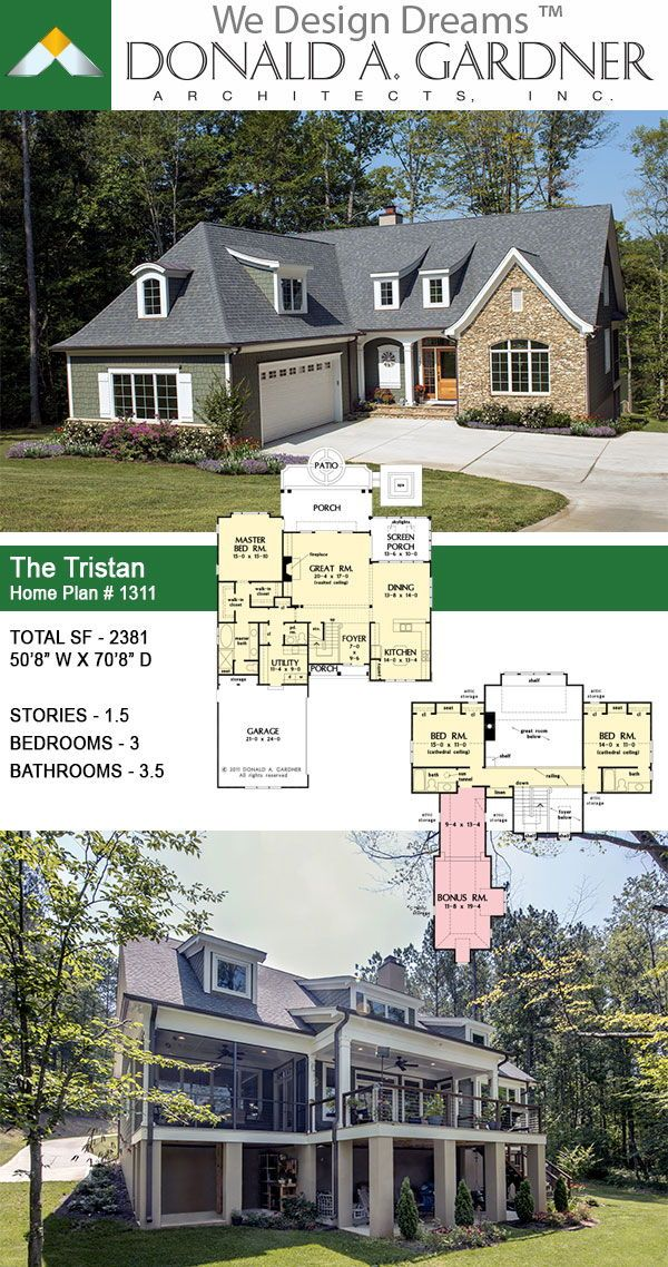Two Story Narrow Lot House Plan Lake House Plans House Plans Narrow Lot House Plans