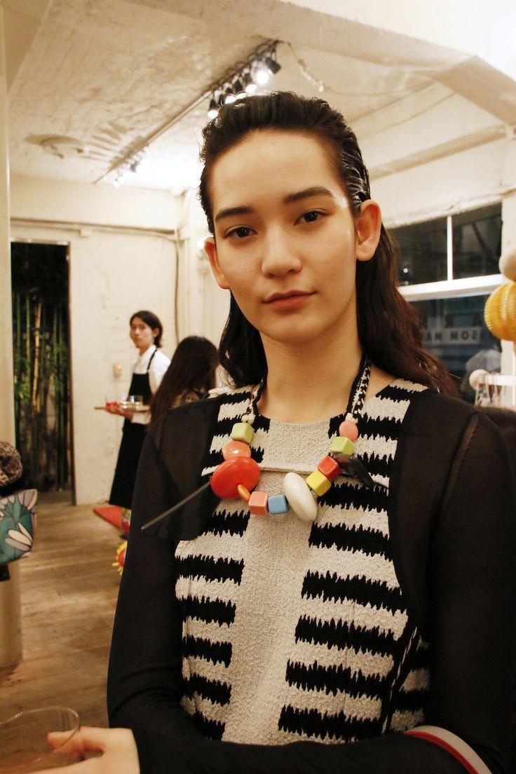 Mona Matsuoka at MARNI BLOSSOM MARKET