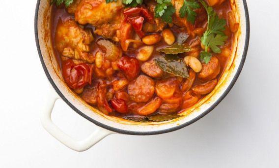 Mimi Spencer S 5 2 Fast Diet Chicken Cassoulet Recipe Fastdiet Fast Food Diet Cassoulet Recipes Chicken Cassoulet Recipe