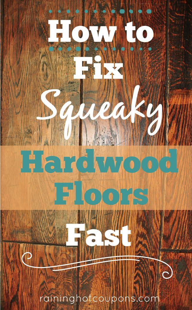 Squeaky hardwood floors baby powder floor matttroy for How to stop a wood floor from squeaking