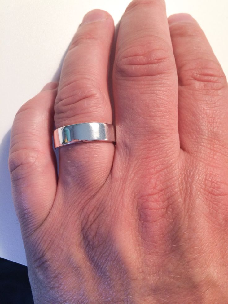 925 male Sterling silver ring by Angelart