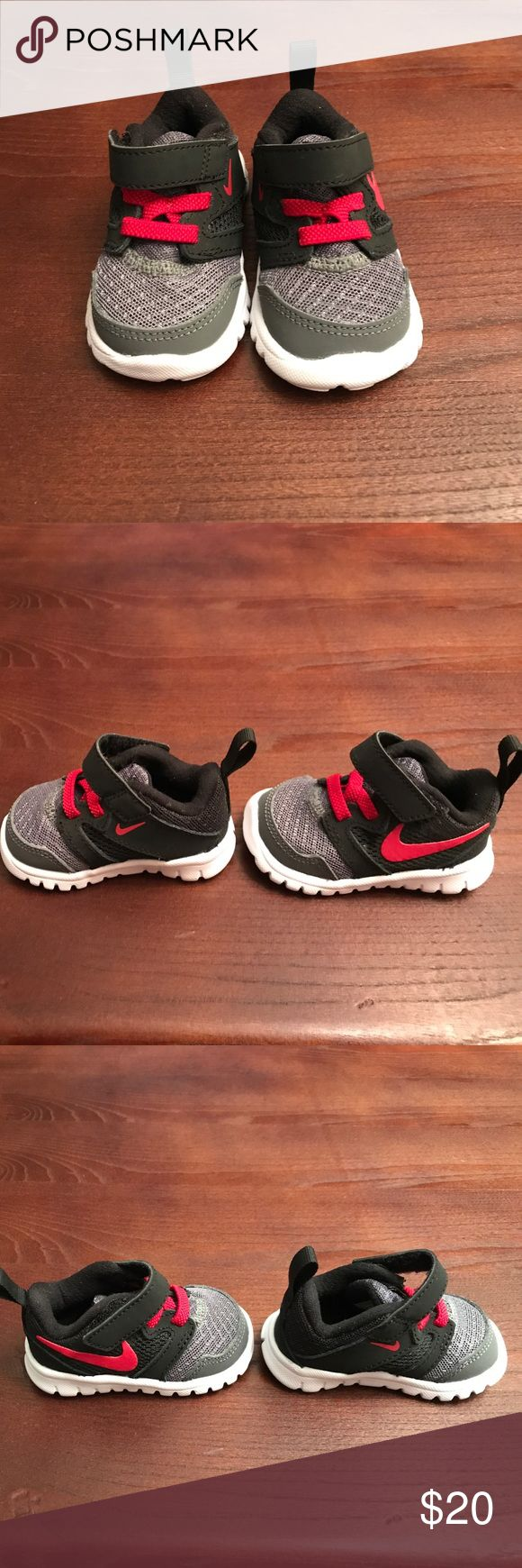 Nike shoes for boys size 2 New Nike shoes for baby boy. Let me know if you have any questions. Also,DO NOT LIST OFFERS IN COMMENT SECTION-SEND A REASONABLE OFFER, NO TRADES. Thank you 😊 Shoes Sneakers