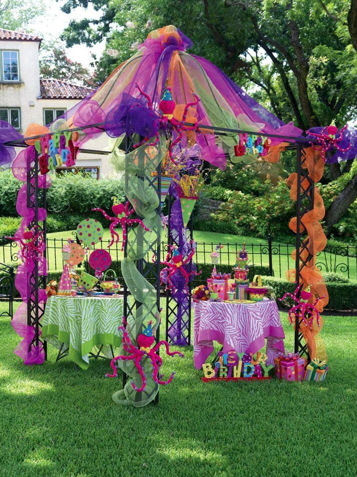 Table De Jardin Alice Garden Tulle Canopy Over Table - Google Search | Alice In