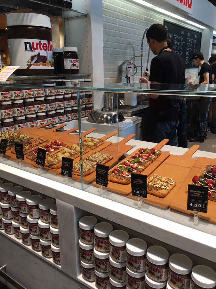 Until today, I did not know about the existence of Nutella Cafés. I have noticed…