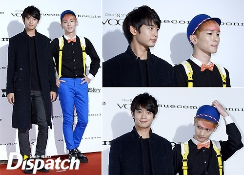SHINee at 'Suecomma Bonnie 2013 S/S Collection'