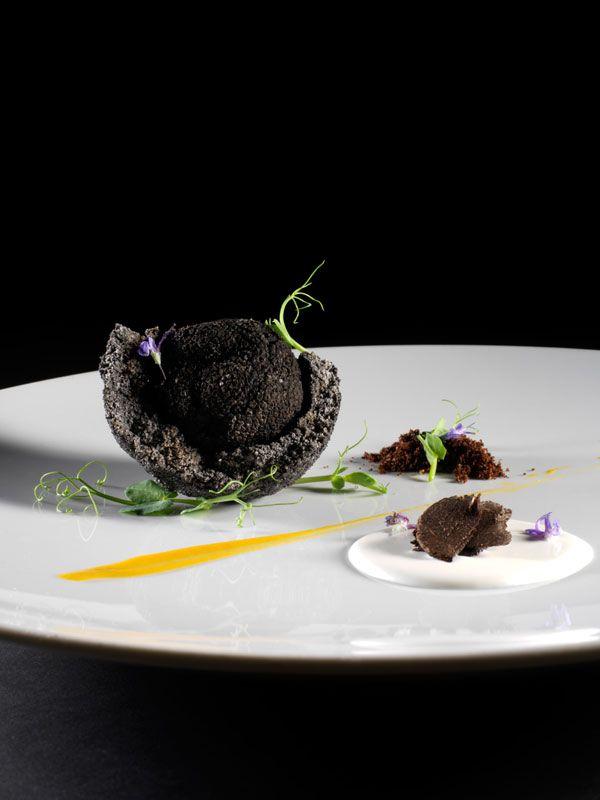 black truffle - molecular gastronomy