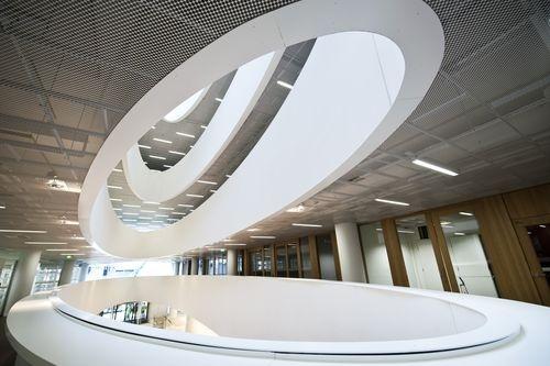 Helsinki University City Centre Campus Library, Kaisa House; helsinki, Finland