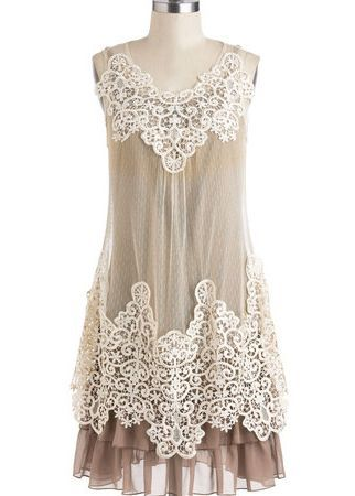 Women's Cream & Sugar Dress - Ryu Clothing for Women - Cassie's Closet