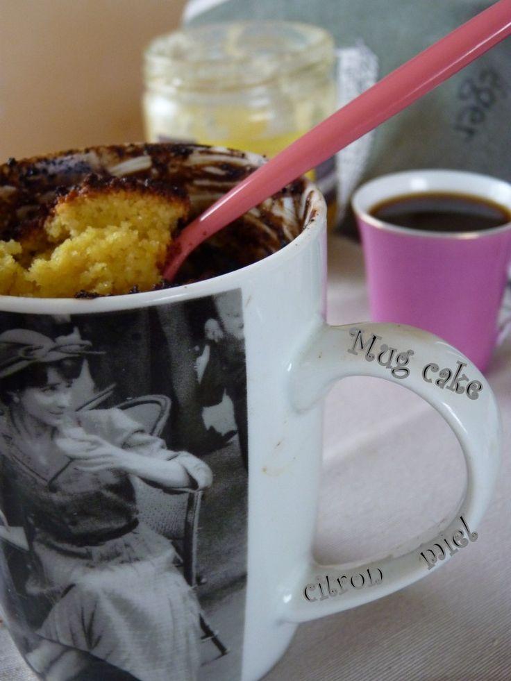Mug cake micro onde citron