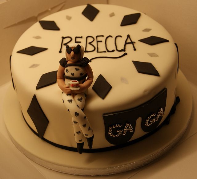Lady Gaga Cake   Flickr - Photo Sharing!