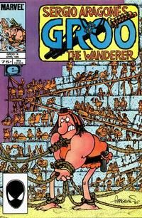 Sergio Aragonés Groo the Wanderer #14  April 1986 [Direct Edition]