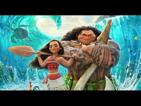 MOANA - Ocean Adventure - New Animation Movie 2016