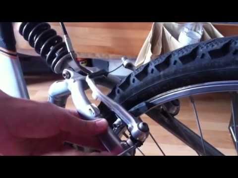 Fahrradbremsen einstellen Anleitung - YouTube