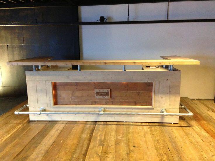 Een eigen steigerhouten bar maken