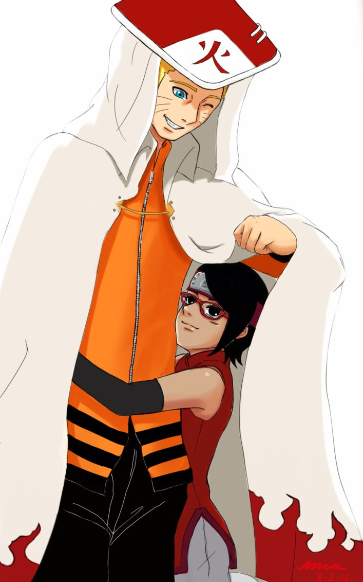 The Seventh Hokage and the Scarlet Spring by I-am-M-i-A on DeviantArt
