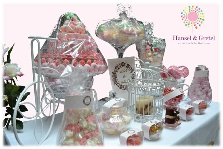 Candy bar para celebraciones muy especiales :))
