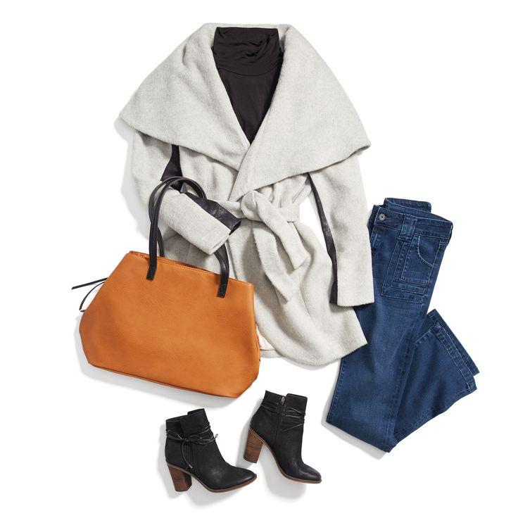 Best 20  Wrap coat ideas on Pinterest | Oxblood, Winter wear for ...