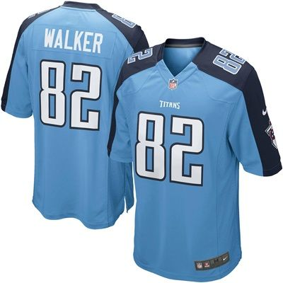 Tennessee Titans Alternate Game Jersey - Delanie Walker - Mens: Tennessee Titans Alternate Game Jersey - Delanie Walker - Men's  TEAM…