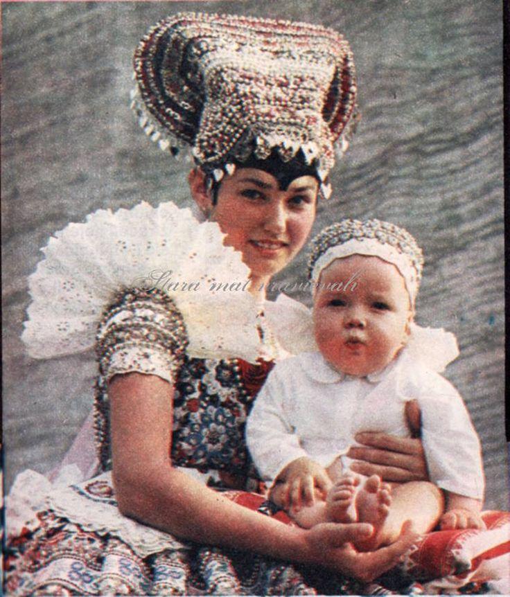 Čajkov folk costume, Slovakia