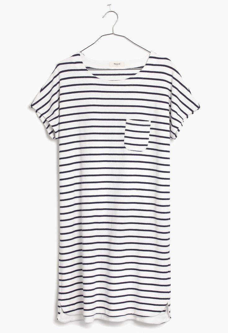 pocket tee dress / madewell