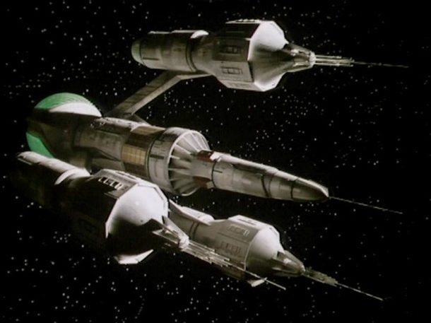 The Liberator - Blakes 7. I could love no spaceship more (except the TARDIS).