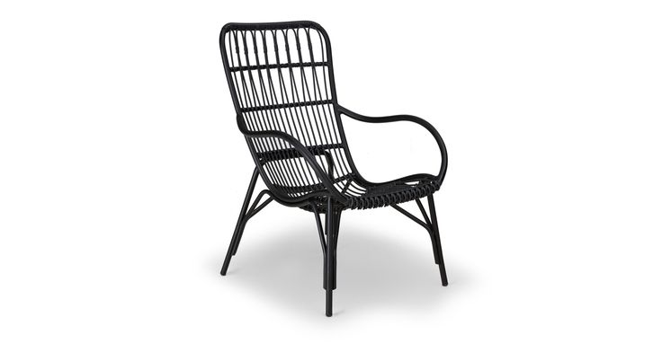 Medan Graphite Lounge Chair - Lounge Chairs - Article | Modern, Mid-Century and Scandinavian Furniture