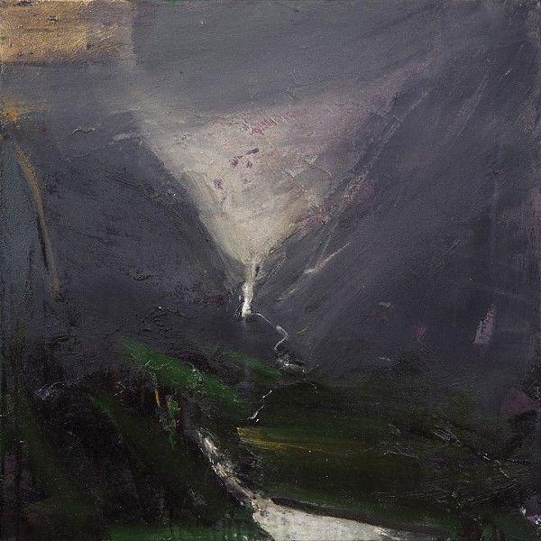 Ørnulf Opdahl: Våt dag, 2007, 80 x 80 cm