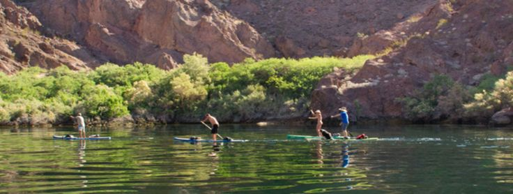Explore the BLACK CANYON on a Standup Paddle Board
