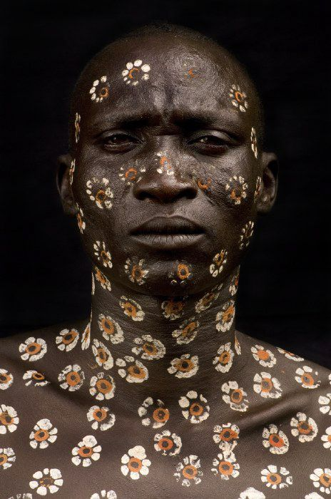 Body decoration in the Omo Valley, Ethiopia, from 'Surma, Faces and Bodies' by Benoit Féron, 2007
