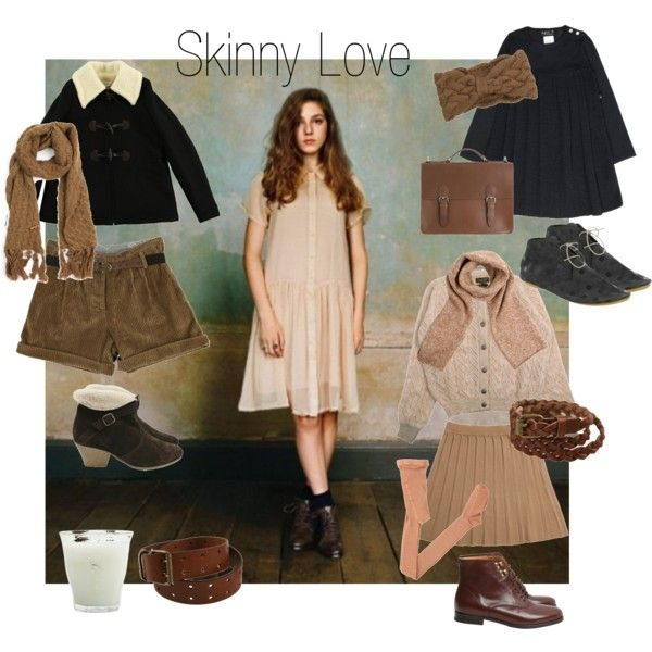 Skinny Love - Birdy, created by mediumfashiongallery on Polyvore