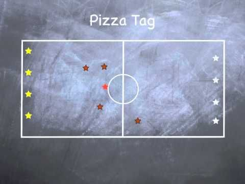 P.E. Games - Pizza Tag - YouTube