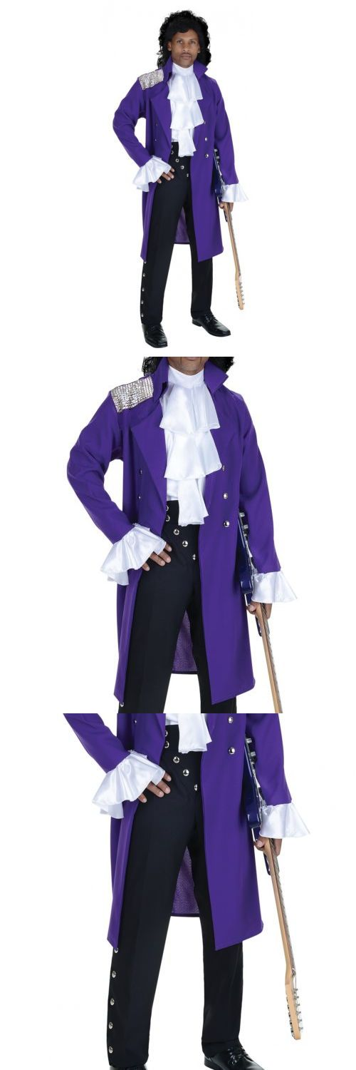 Men Costumes: Prince Costume Adult Purple Rain Pop Star 80S Rocker Halloween Fancy Dress -> BUY IT NOW ONLY: $44.99 on eBay!
