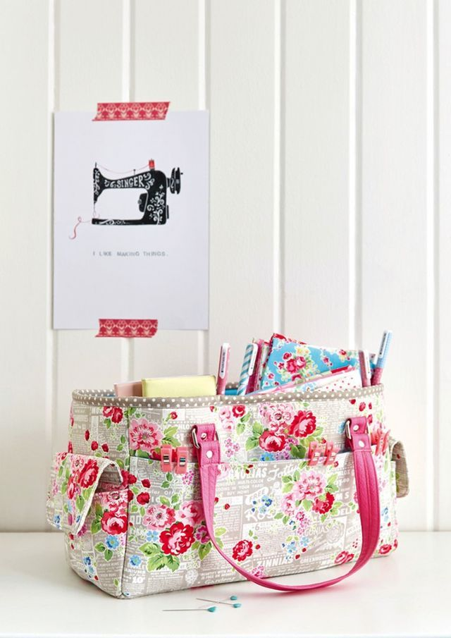 Free Oslo Craft Bag Pattern Sew Sweetness Sewing Pinterest Patterns To And