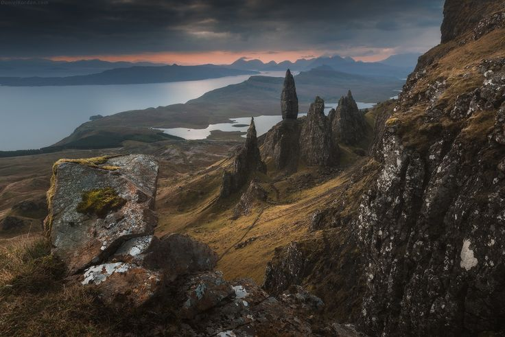 The Old Man of Storr Isle of Skye Scotland photographed by Daniel Korzhonov [OS][1600x1068]   landscape Nature Photos