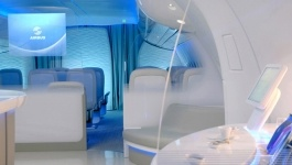 A350 Airbus First Flight Photos Interiors