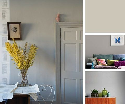 How To Obtain The Furniture Village Natural Woodland Style Within Your Home - Stone Grey Wall Paint