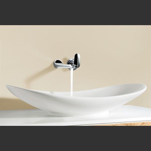 411060R1 Villeroy & Boch  V&B Ny Nature Toppmontert servant 610x360 mm, Alpinhvit m/Ceramic Plus