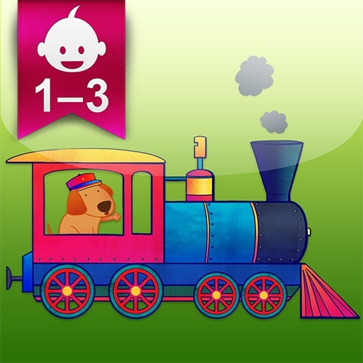 Fun mobile app for young kids - Animal Train for Toddlers - download at http://www.animaltrainapp.com