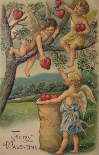 Tree cherubs