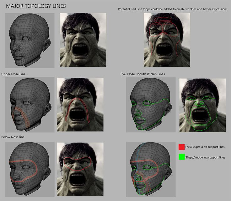 EXCELLENT GUIDE to realistic Head Modeling by Thunder Cloud Studio - click the link!