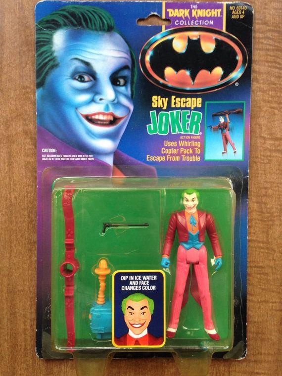 Sky Escape Joker MOC Batman the Dark Knight Collection Vintage DC Comics Action Figure Toy Collectable Retro 90's Toys