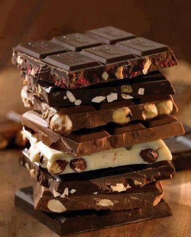 Tutti i tipi di cioccolata ..