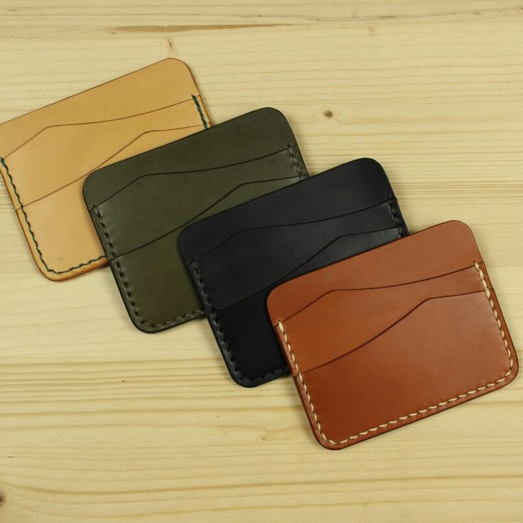 Minimalist wallets in stock. Fits credit cards and cash.