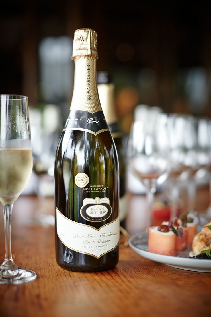 Serve Mum Australia's Most Awarded sparkling wine with a platter of canapés - think prawns with aioli and  smoked salmon rolls - a great way to kick off a Mother's day lunch.