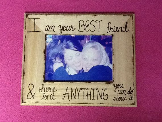 best friends picture frame by creativecraftsbycc on etsy