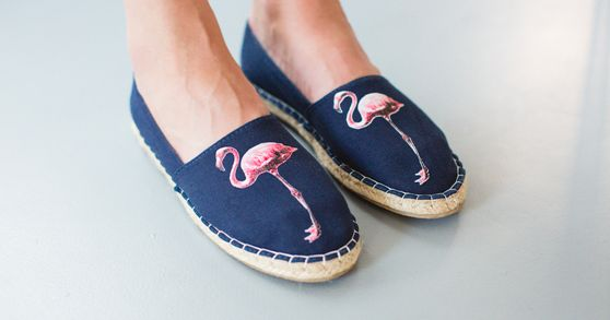 Canvas Espadrille FLAMINGO