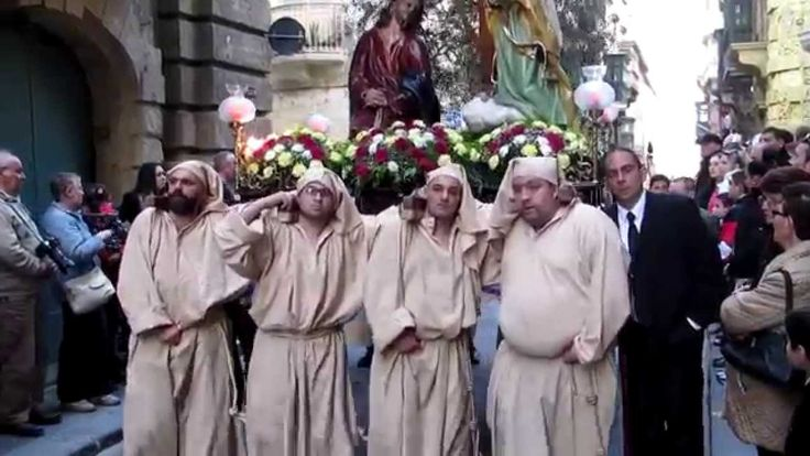Good Friday Procession. Valletta Malta 2015
