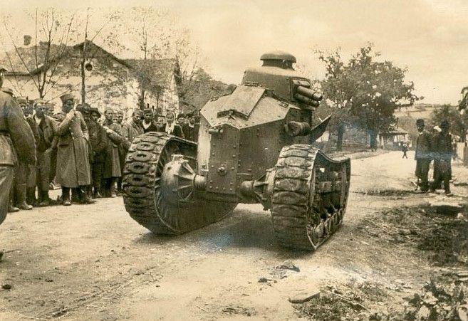 Renault NC in Yugoslavia 1920s