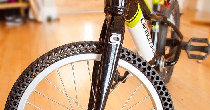 Nuevas llantas sin aire para bicicletas con las que nunca tendrás un pinchazo